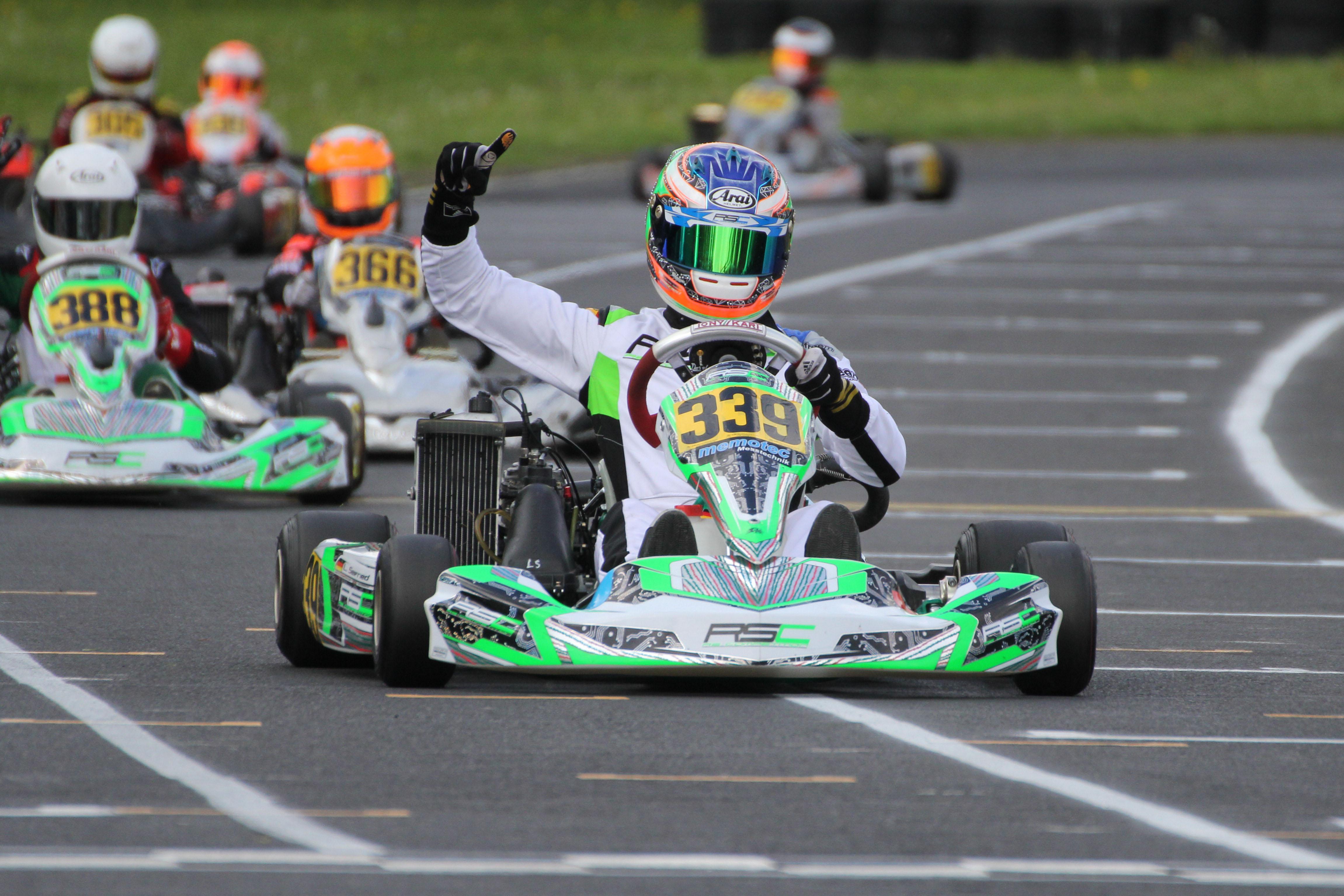Laurenc Seifreid gewann bei den Junioren
