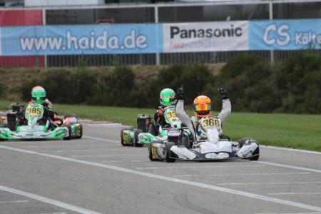 Ben Dörr gewann bei den Junioren