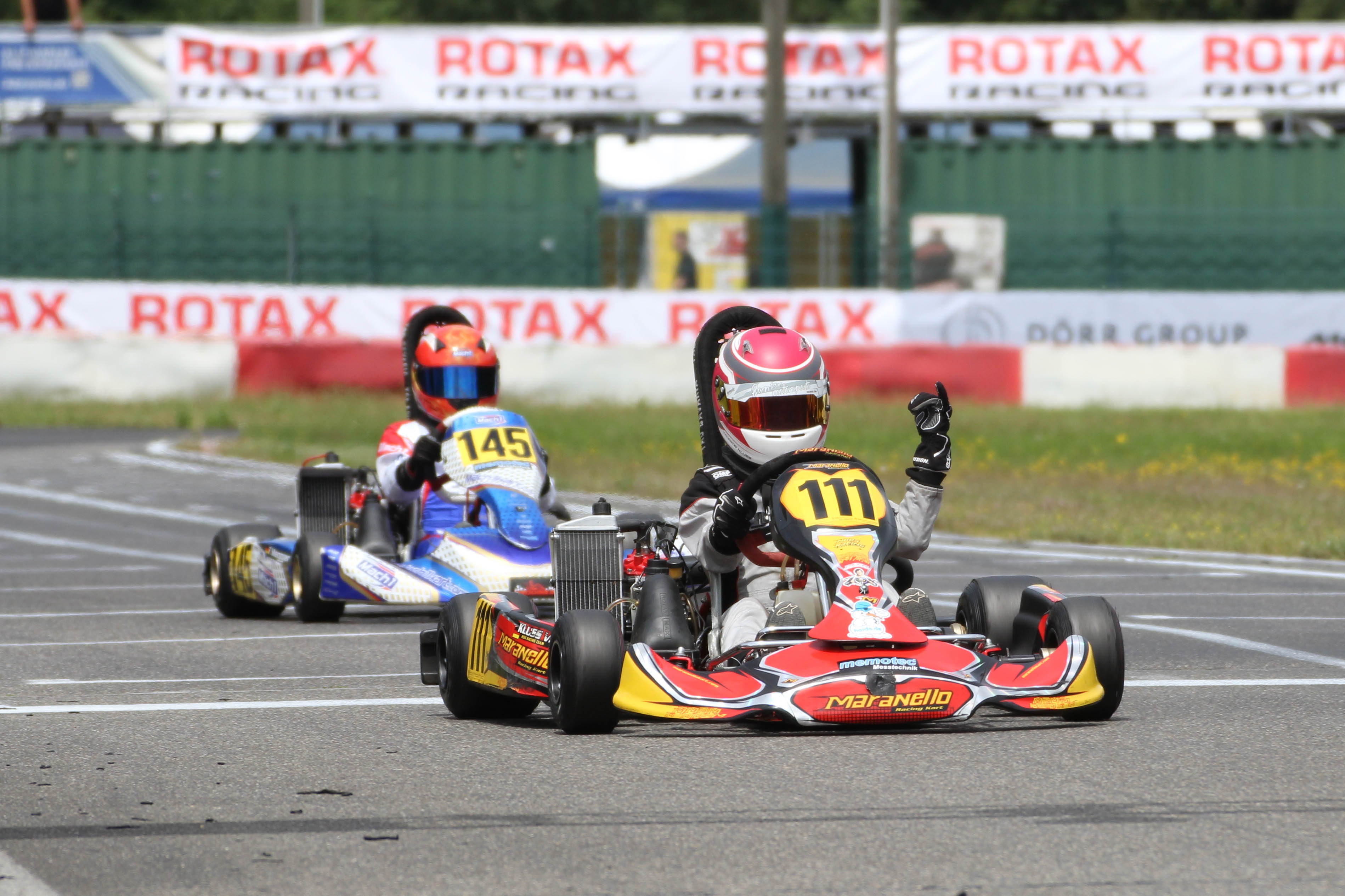 Valentin Kluss gewann bei den Minis.